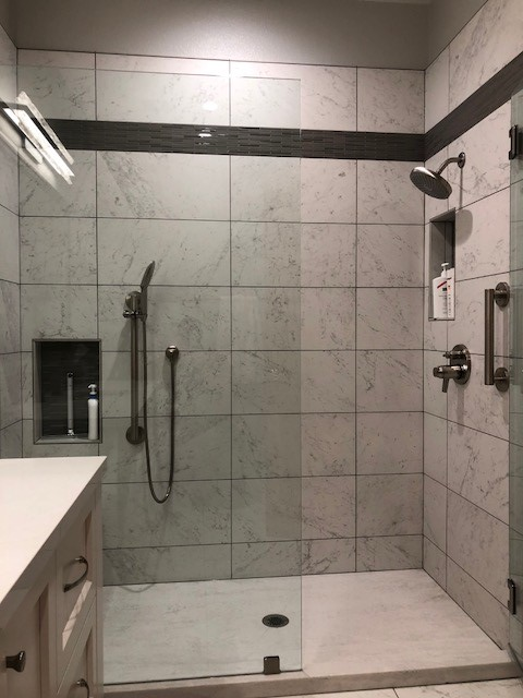 Pocket Area Custom Hall Bath Remodel - Bradley Builders ...